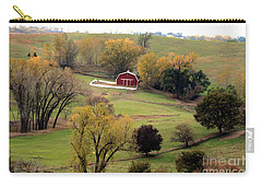 Little Red In Valley  Carry-all Pouch by Yumi Johnson