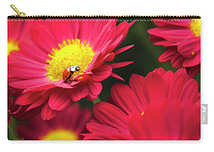 Little Red Ladybug Carry-all Pouch by Christina Rollo
