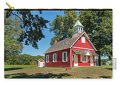 Little Red School House Carry-all Pouch