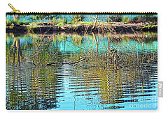 Carry-all Pouch featuring the photograph Little Ripples By Kaye Menner by Kaye Menner