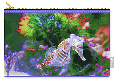 Little Sea Horse Carry-all Pouch