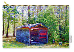Little Shed At Farm Carry-all Pouch