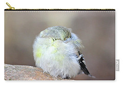 Little Sleeping Goldfinch Carry-all Pouch