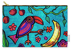 Little Toucan Carry-all Pouch by Sarah Loft