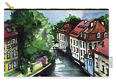Little Venice In Prague Certovka Canal Carry-all Pouch