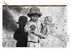 Little Vietnamese Girl Playing With Her Doll Carry-all Pouch