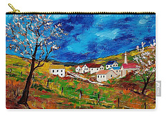 Little Village Carry-all Pouch by Mike Caitham