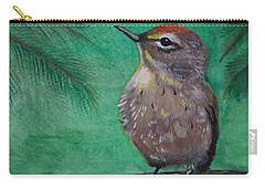 Little Warbler Carry-all Pouch by Leslie Allen