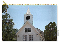 Little White Church Carry-all Pouch