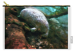 Little White Manatee Carry-all Pouch
