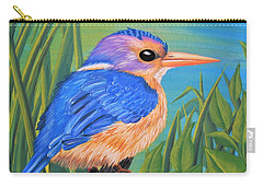 Litttle King Of The Fishers Carry-all Pouch