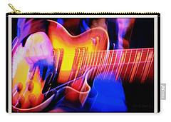 Carry-all Pouch featuring the photograph Live Music by Chris Berry