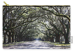Live Oak Lane In Savannah Carry-all Pouch