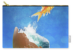 Live Your Dreams Carry-all Pouch by Juli Scalzi