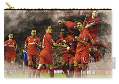 Liverpool V Leicester City Carry-all Pouch by Don Kuing