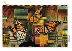 Carry-all Pouch featuring the mixed media Living A Life With No Boundaries by Marvin Blaine