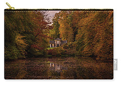 Living Between Autumn Colors Carry-all Pouch