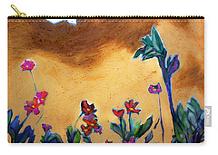 Carry-all Pouch featuring the painting Living Earth by Winsome Gunning