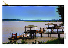 Carry-all Pouch featuring the photograph Living In The Lowcountry by Lisa Wooten