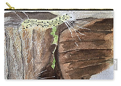 Living In The Moment -- A Watercolor Sketch  Carry-all Pouch