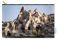 Living In Tufa Carry-all Pouch by Kathy McClure