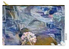 Carry-all Pouch featuring the mixed media Living It by Ray Tapajna