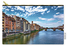 Living Next To The Arno River Carry-all Pouch