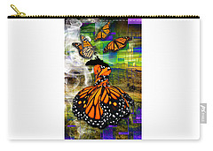 Carry-all Pouch featuring the mixed media Living One's Destiny by Marvin Blaine