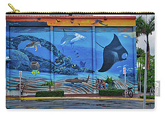Living Reef Mural Carry-all Pouch