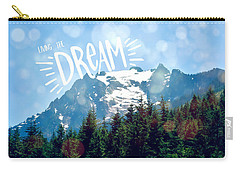 Living The Dream Carry-all Pouch by Robin Dickinson