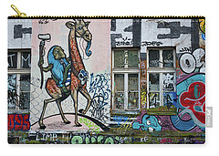 Carry-all Pouch featuring the photograph Ljubljana Graffiti - Slovenia by Stuart Litoff