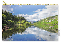 Llyn Mymbyr And Snowdon Carry-all Pouch by Ian Mitchell