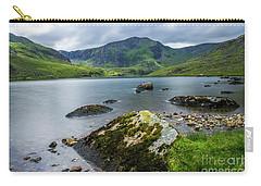 Llyn Ogwen Glyder Fawr Carry-all Pouch by Ian Mitchell