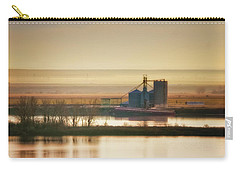 Carry-all Pouch featuring the photograph Loading Grain by Albert Seger
