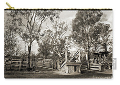 Carry-all Pouch featuring the photograph Loading Ramp by Linda Lees