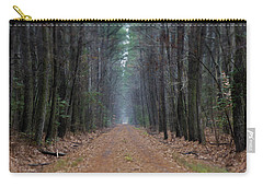 Carry-all Pouch featuring the photograph Loblolly Lane by Robert Geary