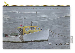 Lobster Boat In Kettle Cove Carry-all Pouch