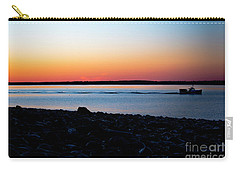 Lobster Boat In Maine Carry-all Pouch by Diane Diederich