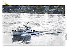 Lobster Boat Lbwc Carry-all Pouch by Jim Brage