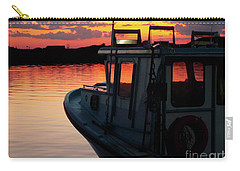 Lobster Boat Sunset Carry-all Pouch