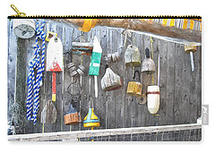Lobster Markers Lmwc Carry-all Pouch by Jim Brage