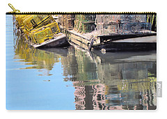 Lobster Traps Carry-all Pouch by Elizabeth Dow