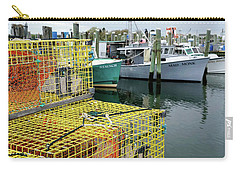 Lobster Traps In Galilee Carry-all Pouch