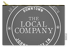 Carry-all Pouch featuring the digital art Local by Heather Applegate