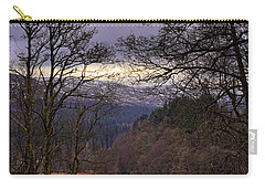 Carry-all Pouch featuring the photograph Loch Venachar by Jeremy Lavender Photography