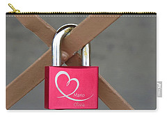 Lock Of Love Carry-all Pouch