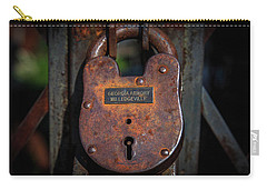 Carry-all Pouch featuring the photograph Locked Up Tight by Doug Camara