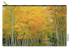 Carry-all Pouch featuring the photograph Lockett Meadow A Moment In Time by Broderick Delaney