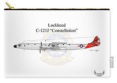 Lockheed C-121j Constellation Carry-all Pouch