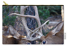 Locking Horns - Well Antlers Carry-all Pouch